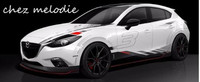 KK top quality car body film sticker paper for Mazda 3 Axela sedan/hatchback, CX 4, CX 5, Atenza or other car models