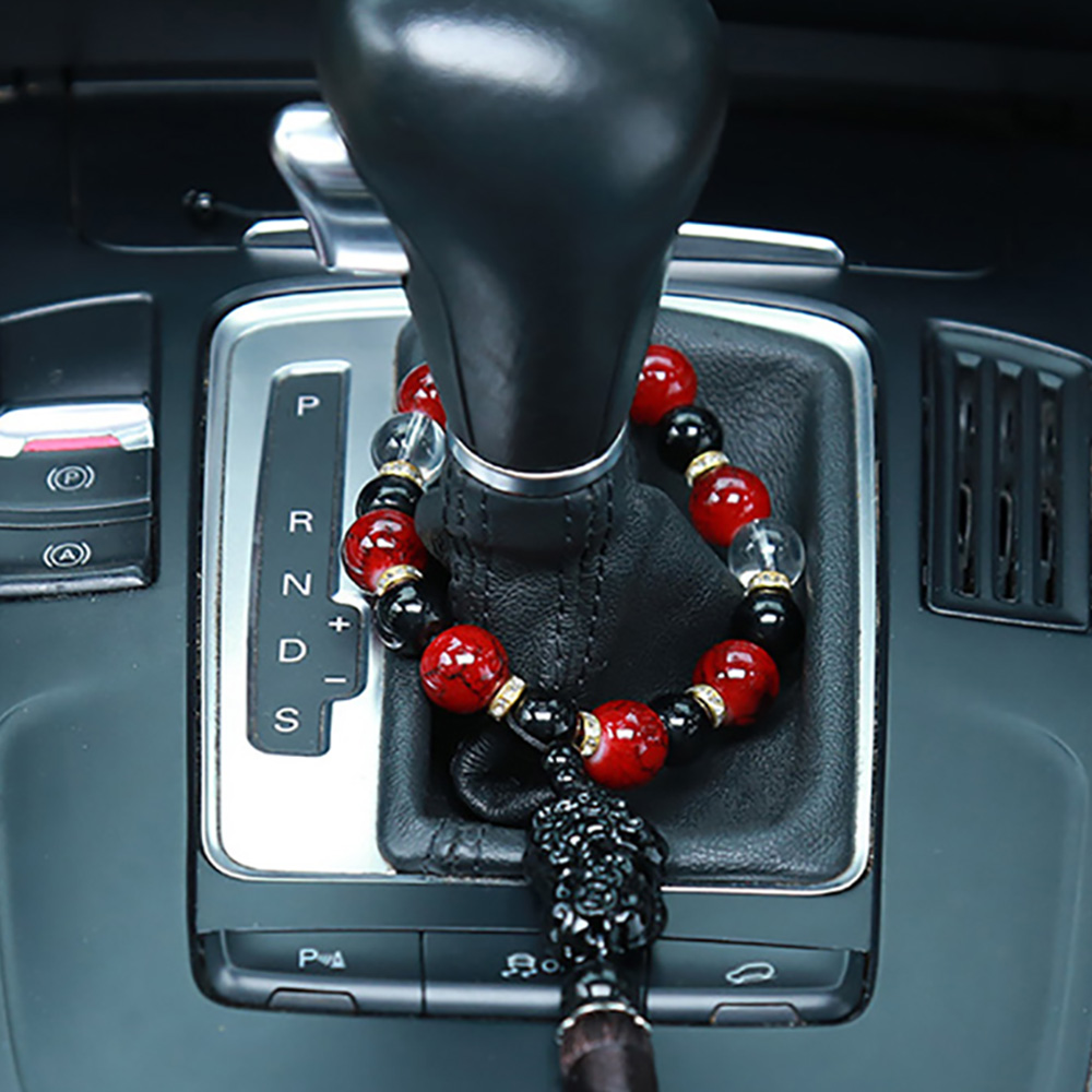 Car Ornaments Buddha Beads With Brave Troops Auto Interior Rearview Mirror Hanging Pendant Stalls Decoration Accessories Gifts car pendant cute helmet baymax robot doll hanging ornaments automobiles rearview mirror suspension decoration accessories gifts