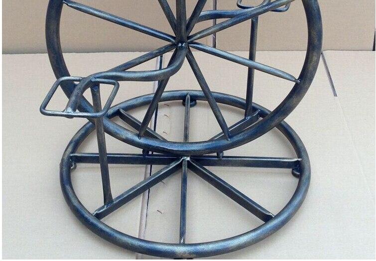 Loft sedia industriale unico del metallo telaio della bicicletta in