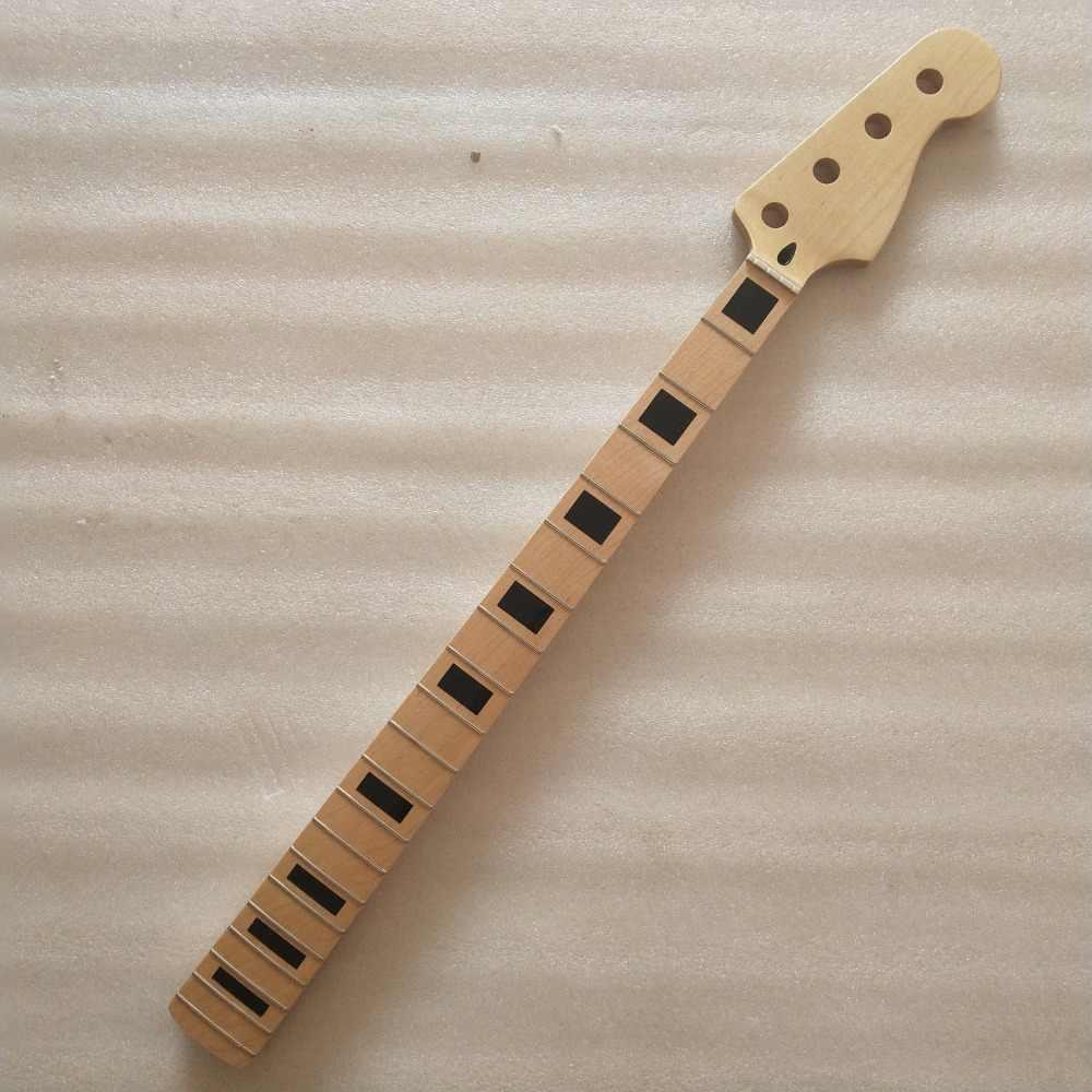 Клен 20 лада шеи для электрической джазовая бас-гитара шеи частей замены