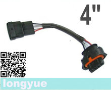 longyue 2pcs 4 way/pin BSK map sensor harness male & female extension 4""