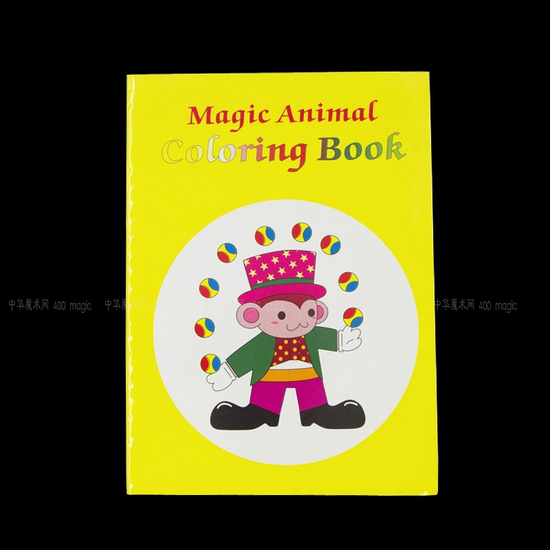 Aliexpress Buy A Fun Magic Coloring Book Medium Size TricksMentalismStage PropsCardMagic AccessoriesGimmicksClose Up From Reliable