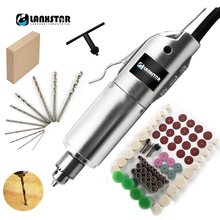 220V 110V Adjustable Variable Speed Drill PCB Jewelry Wood Metal Aluminum Acrlic 0.3~4mm High Precision Engrave Electric Drill 100v 240v micro electric hand drill adjustable variable speed electric drill