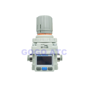 Image 2 - Regulador de vácuo de pressão negativa irv10/20 em linha reta/encaixes de cotovelo com medidor de pressão/regulador de interruptor de pressão digital