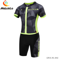 Malciklo Pro Women Ropa De maillot ciclismo Triathlon Cycling Jerseys Set 2018 bike clothing sport wear suit design custom