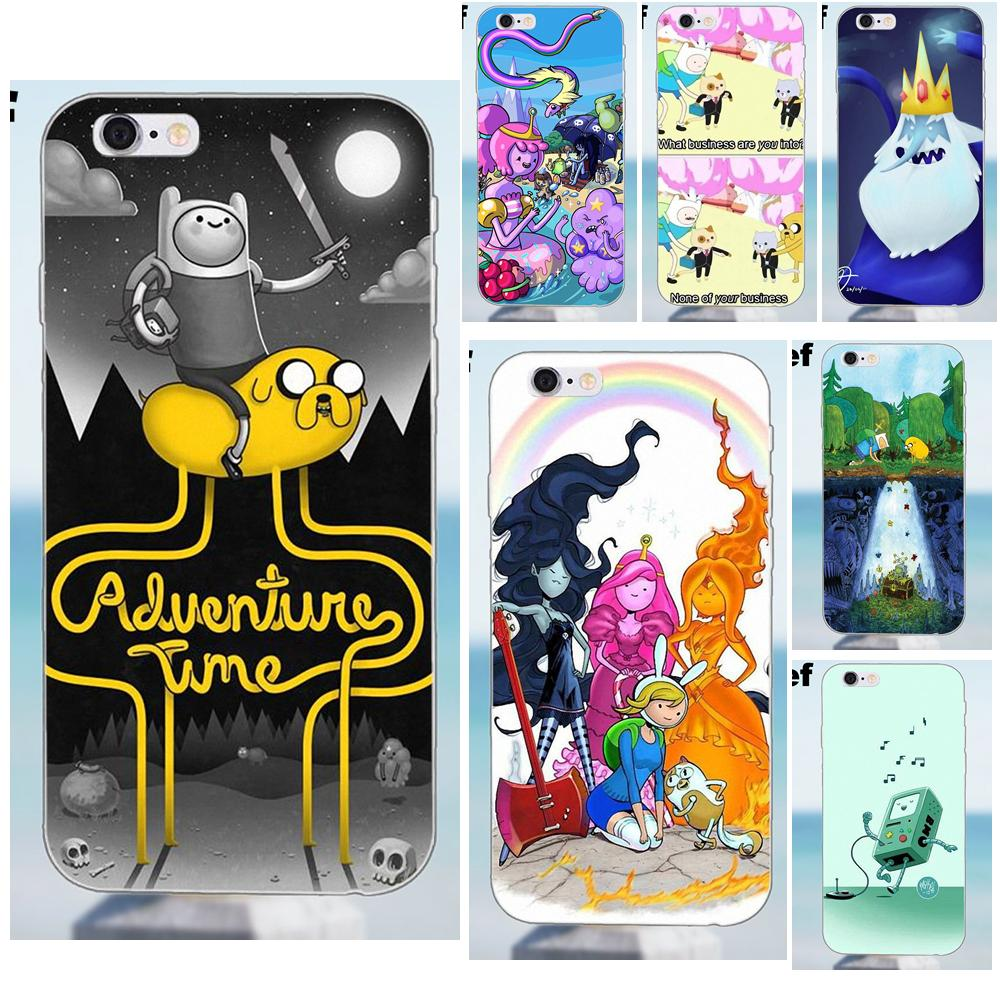 Suef TPU Hot Selling Adventure Time Jake Joke For iPhone 4 4S 5 5S 5C SE 6 6S 7 8 Plus X Galaxy J1 J3 J5 J7 A3 A5 2016 2017 image