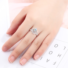 Elegant Sterling Silver Crown Design Ring For Women