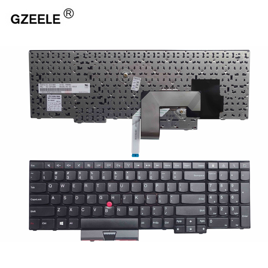GZEELE NEW US laptop Keyboard for LENOVO FOR IBM ThinkPad
