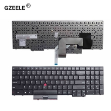 GZEELE NEW US laptop font b Keyboard b font for LENOVO FOR IBM ThinkPad Edge E530