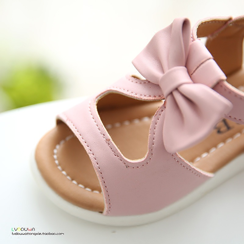 2018 Νέα άφιξη κορίτσια σανδάλια μόδα - Παιδικά παπούτσια - Φωτογραφία 4