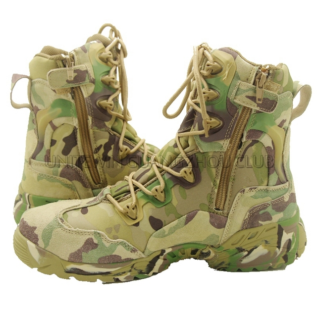182aefadea43f Multicam Outdoor Camping Boots Tactical Hunting Leather High Quality Boots  Men Size 39-45