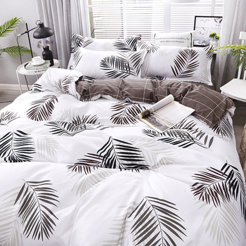 New Leaves Printing High Quality Bedding Set Bedding Sets