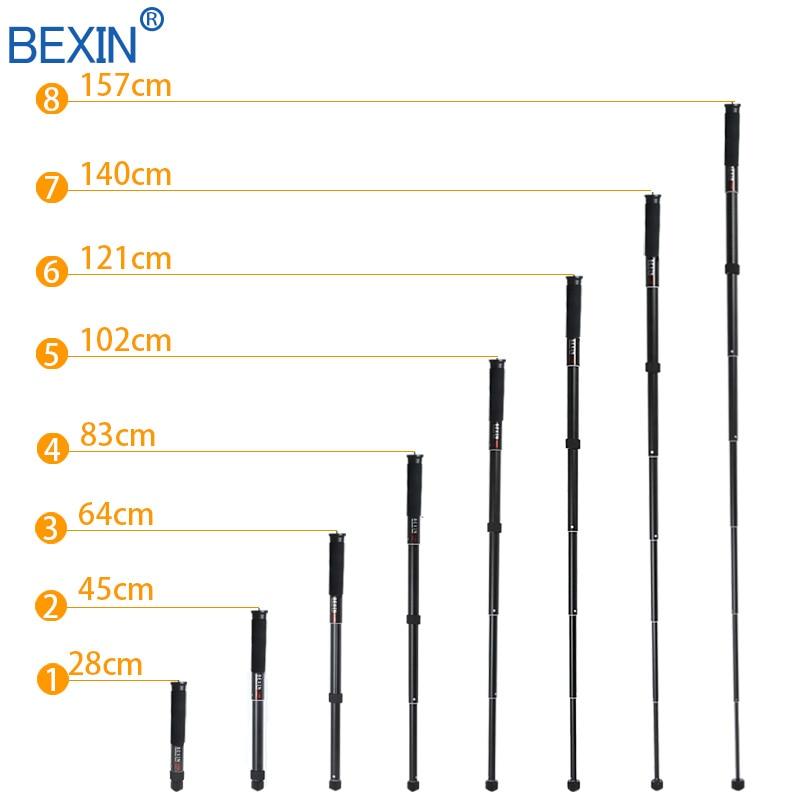 Image 4 - BEXIN Extendable lightweight portable mini camera monopod phone  stand handheld unipod dslr camera video monopod for Sony CanonTripods