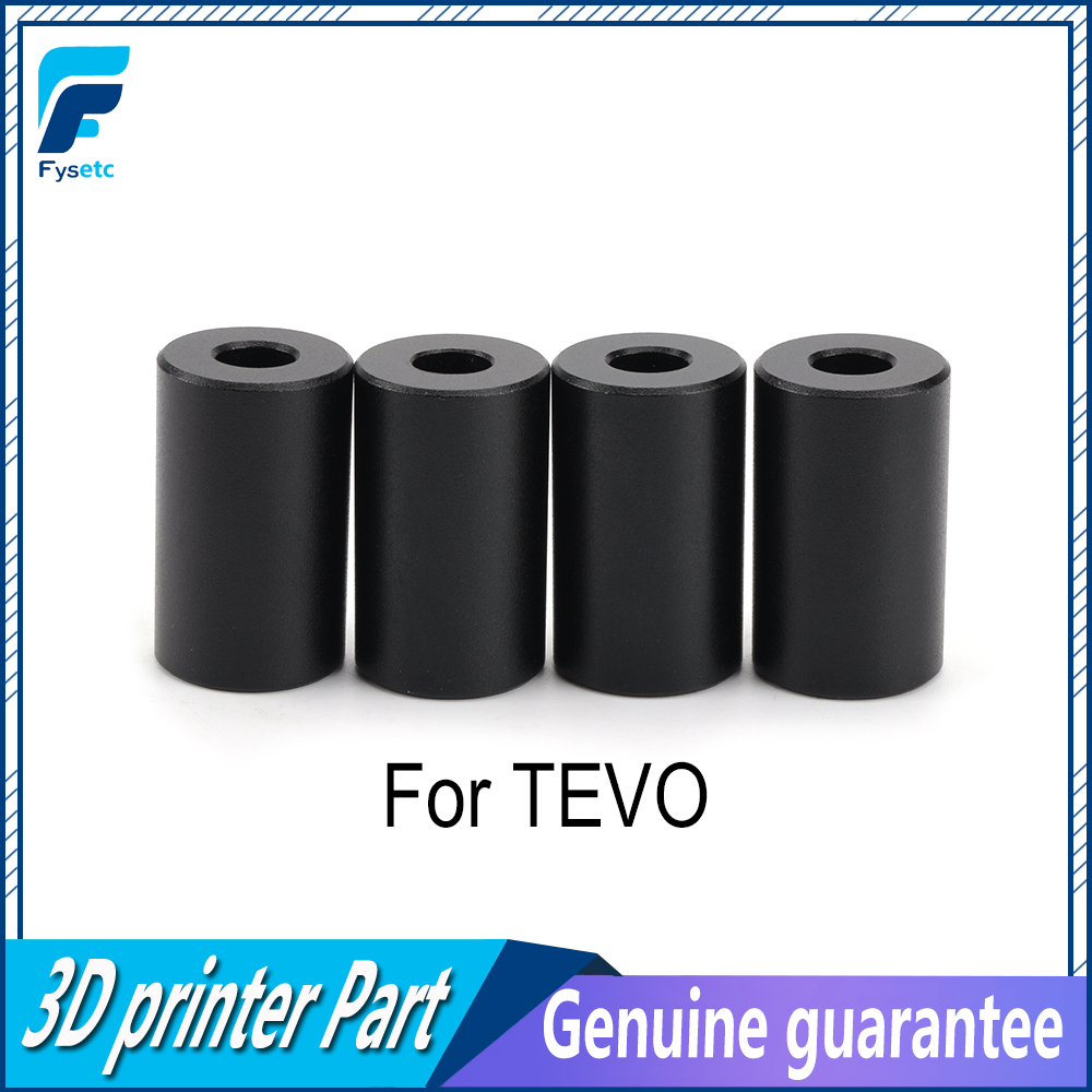 1Set Aluminum Solid Spacer Hot Bed Leveling Column 4pcs Long Solid Spacers <font><b>3D</b></font> Printer <font><b>Parts</b></font> For <font><b>TEVO</b></font> <font><b>Tornado</b></font> Tarantula Ultimate image