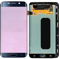 Original S6 Edge Plus LCD For Samsung Galaxy S6 Edge Plus G928F LCD Frame Display Touch Screen Digitizer With Red Brun Shadow