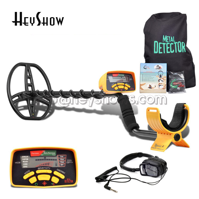 MD6350 Underground Metal Detector Coil Gold Professional Finder Updated MD-6350 Gold Digger Treasure Instrument With LCD Display