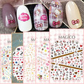 Ver detalle RABITTS HOLA KT Nuevo 1 MAGICO serie del arte del clavo 3d pegatinas nail art decal stampingwholesale