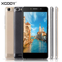 XGODY Timmy 5.5 Pouce Smartphone RAM 1 GB ROM 8 GB Quad Core Android 5.1 8MP Caméra Telefone Celular 3G Tactile Android téléphones