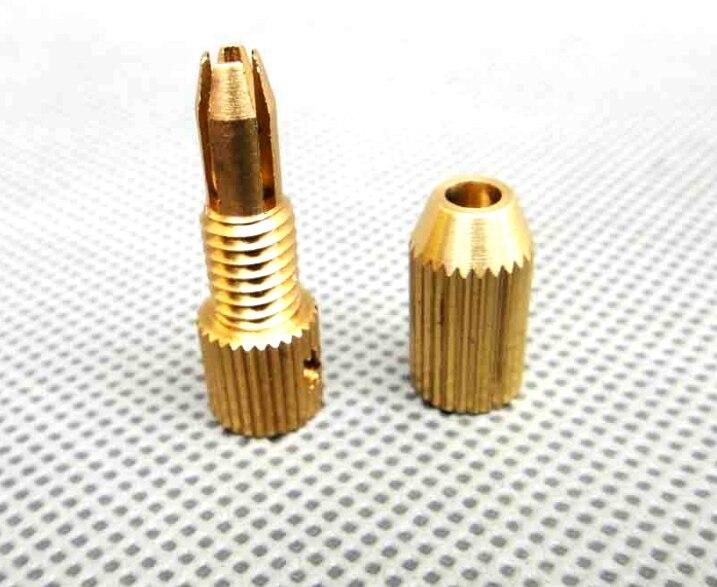 №2.3-2.3 мм мини латунь твист металлические дрель зажим ...