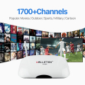 Android 4.4 TV Box RK3128 1 GB 8 GB Quad Core WIFI HDMI HD Iudtv Iptv Canales Europa Smart Set Top Box Media Player Envío Libre