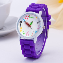 Relogio Feminino Women Watches hot brand Casual Fashion 10 Colors Cartoon Watch Silicone Quartz Children Wristwatch Clock