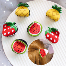 LNRRABC2018 FASHION Cute Fashion Women Girls Hair Pins Fruit Shape Korean 1PC High Quality Accessories Hot Sale Clip