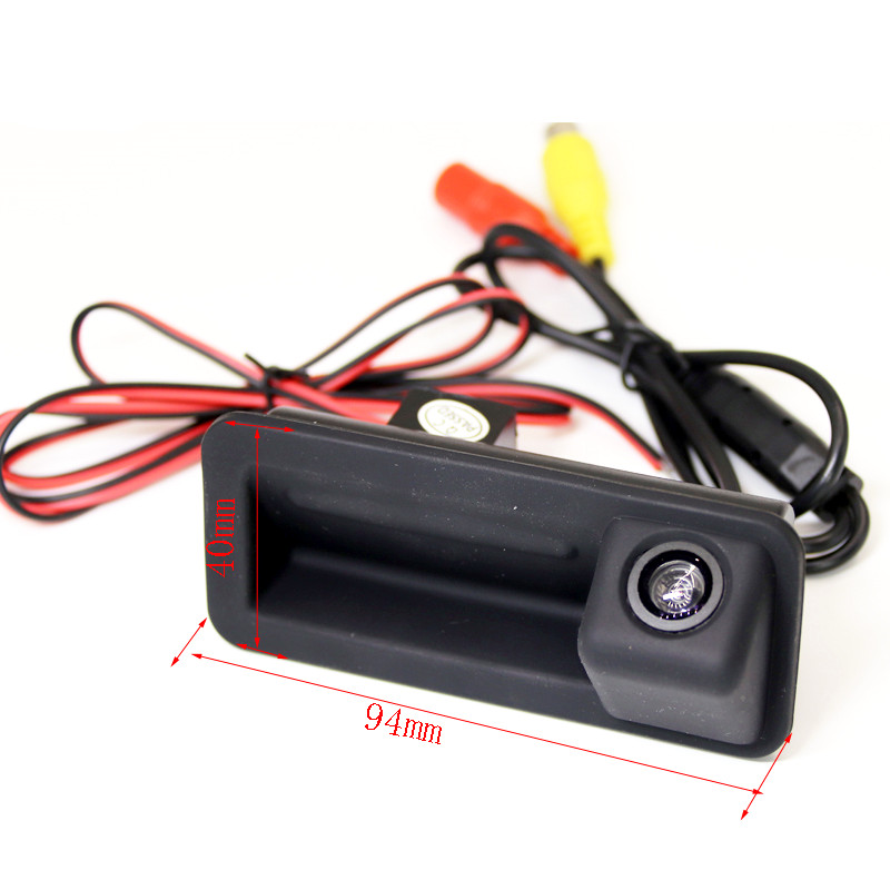 CCD HD Car Backup Parking Vehicle Camera For Ford Mondeo FOCUS Range Rover Freelander 2 Trunk Handle Vehicle Camera Wire Cable