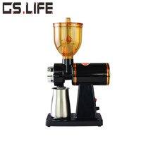 Nova Atualização 110 V/220 V 1-8 Engrenagens Moedor de Café Máquina de Moagem Elétrica Moedor de Café Tempero