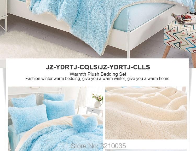 HTB1BqZYetHO8KJjSZFLq6yTqVXab - Velvet Mink or Flannel 6 Piece Bed Set, For 5 Bed Sizes, Many Colors, Quality Material