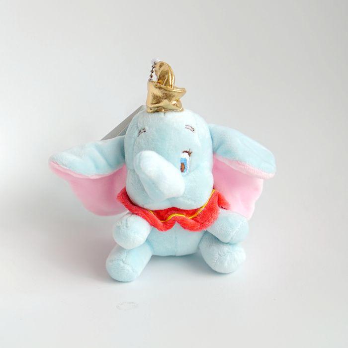 10cm cute dumbo stuffed animal Plush Toy small pendant mini cartoon elephant doll Presents for children Key chain