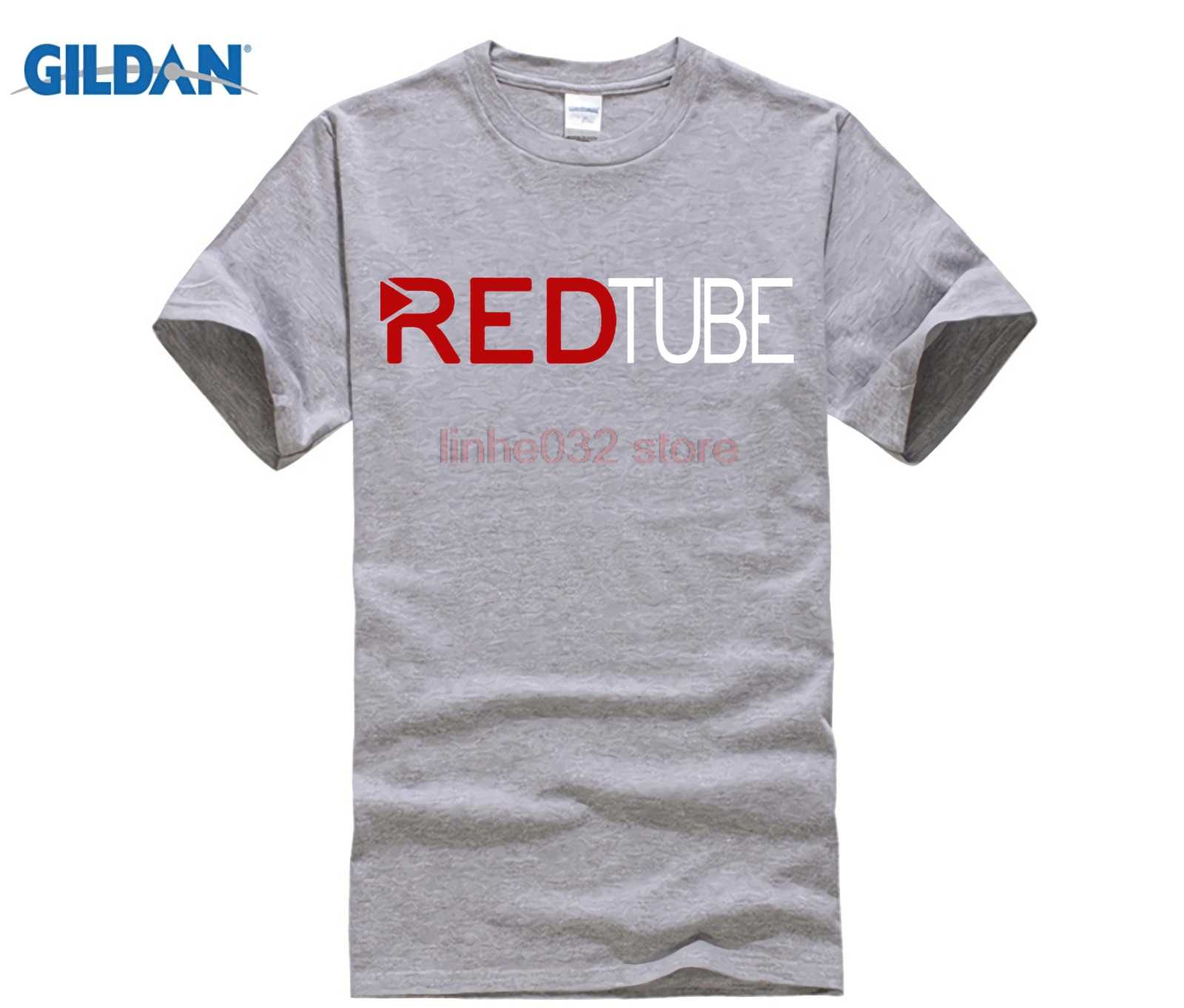 bae26b8f6cc ... 2018 Casual Fashion RedTube Logo Men s T-Shirt Cotton male Tops tee  Shirts hot fashion