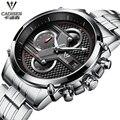 Reloj Hombre Fashion Wristwatch CADISEN Design Military Quartz Watch Men Luxury Brand Sport Watch montre homme Relogio Masculino