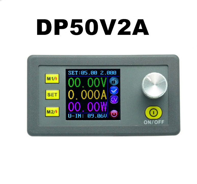 RD DP50V2A Constant Voltage meter current Step-down LCD Display constant digital voltage current meter step down dp50v2a voltage regulator supply module buck color lcd display converter