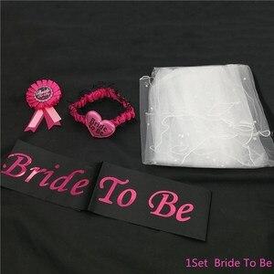 Image 2 - Chicinlife 1Set Braut Zu Werden Ballon Henne Bachelorette Party Braut Zu Werden Hochzeit Engagement Zeremonie Zubehör Dekoration Liefert