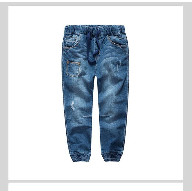 2016 осенью новый детская одежда детская мода джинсы джинсовые брюки брюки мальчиков и девочек в возрасте от 4-17 Т