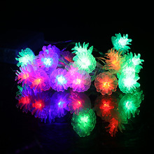 LED Strip Light 2.2M 20 LED Battery LED String Lights Pinecone/Clip Shape Christmas Party Festival Decoration Fairy String Lamp