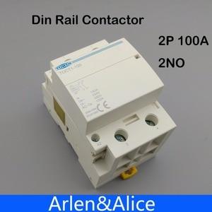 Image 1 - TOCT1 2P 100A 2NO 230V 50/60HZ Din rail Household ac Modular contactor