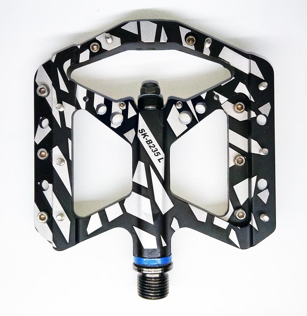 Цена за 2016 Новый классический дизайн герметичный подшипник Полный ЧПУ алюминиевый BMX DH XC платформа педали велосипеда