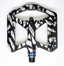 2016 Nuevo diseño clásico cojinete sellado de aluminio CNC Completo BMX DH XC pedal de la bicicleta plataforma