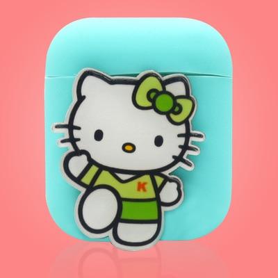 Cute Animal Cartoon AirPod Case Cover 1