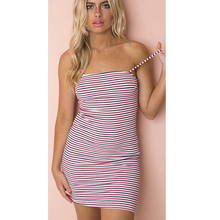 Womens Summer Pack Hip Waist Tube Top Package Dresses Bandage Bodycon Mini Sling Dress Slim Sexy Evening Party F4