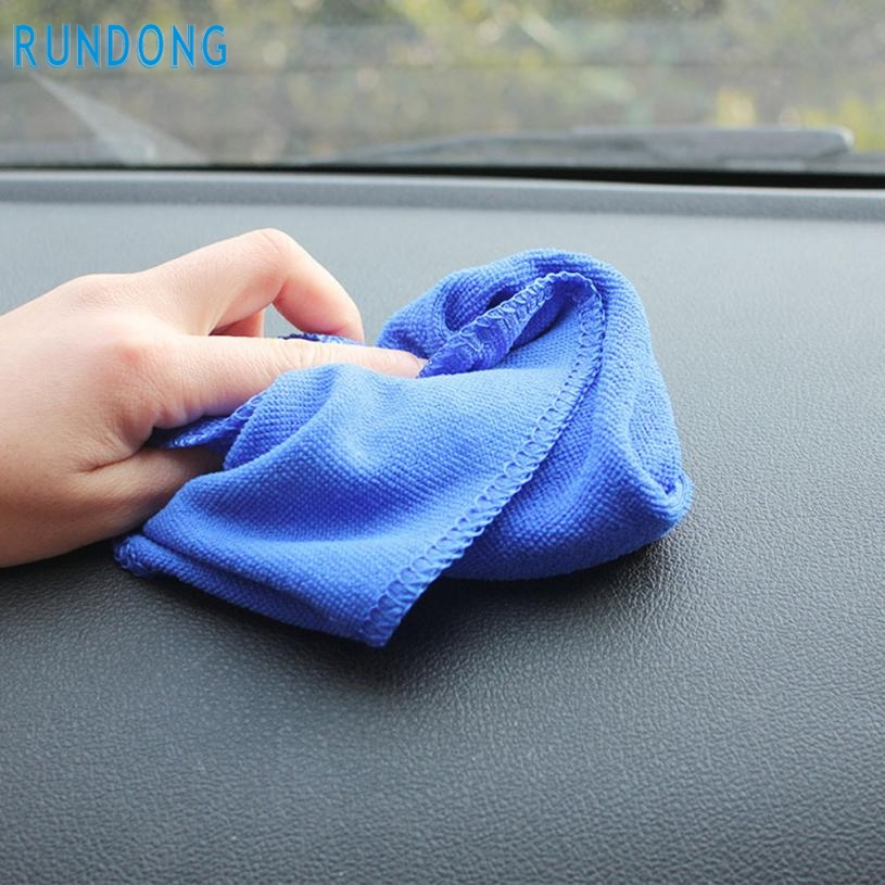2016 New Arrival Details about 6PCS Blue Absorbent Wash Cloth Car Auto Care Microfiber Cleaning Towels Ap21Sep 21