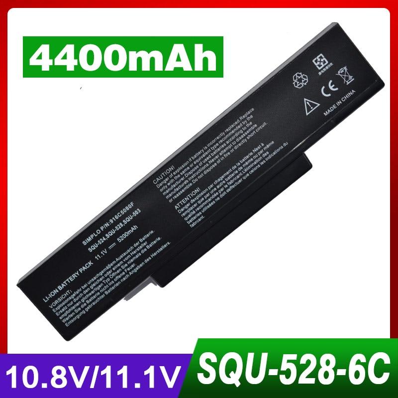 4400mAh laptop battery For Asus F3J A32-F3 F3Jc F3JF F3Jm SQU-528 F3Jr F3Jv F3Ka F3Ke F3L F3M F3P F3Q F3Sa F3Sc F3Se F3Sr F3Sv