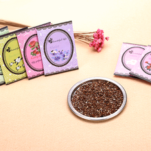 1 PCS Natural Smell Incense Wardrobe Sachet Air Fresh Scent Bag Perfume Sachet Bag Aromatherapy Package Wardrobe Supplies(China)