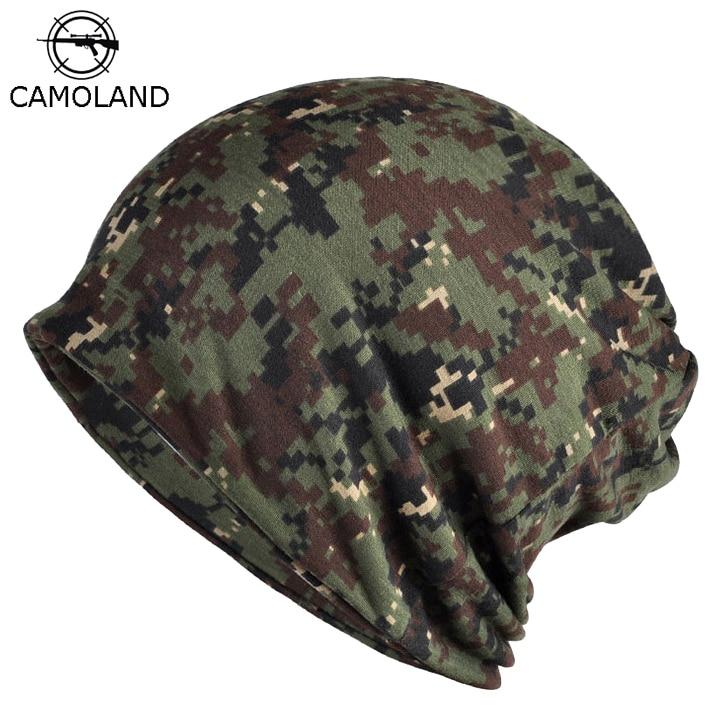 Men Autumn Winter Hat Tactical Military Balaclava Army Camouflage   Beanies   Thin Cotton   Skullies     beanie   Men Unisex Scarf Camo