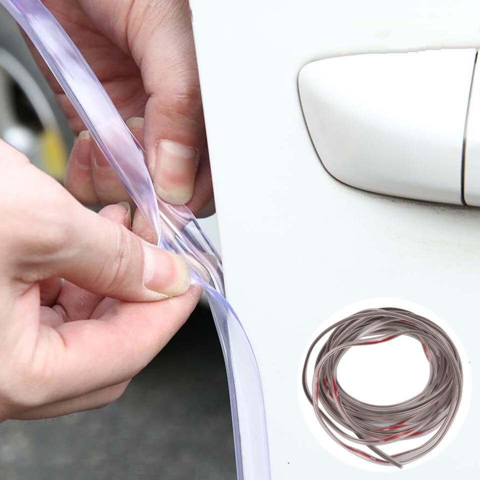 10M Car Door Seal Door Edge Rubber Scratch Protector Car Door Sealing Strips Sticker Anti Collision Noise Insulation