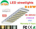 210W Bridgelux LED Street Lights IP67 Main road lighting Highway lighting Elevated road and bridge lighting CE RoHS 85-265V