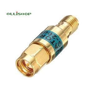 Image 1 - 2 W SMA الذكور إلى الإناث المخفف DC 6.0GHZ 50ohm 1 30dB موصلات RF الطاقة المخفض مانع