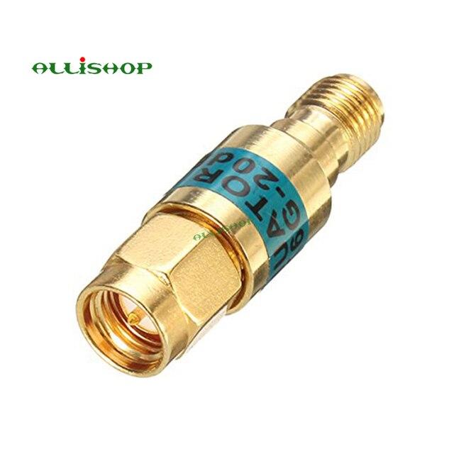 2 W SMA الذكور إلى الإناث المخفف DC 6.0GHZ 50ohm 1 30dB موصلات RF الطاقة المخفض مانع