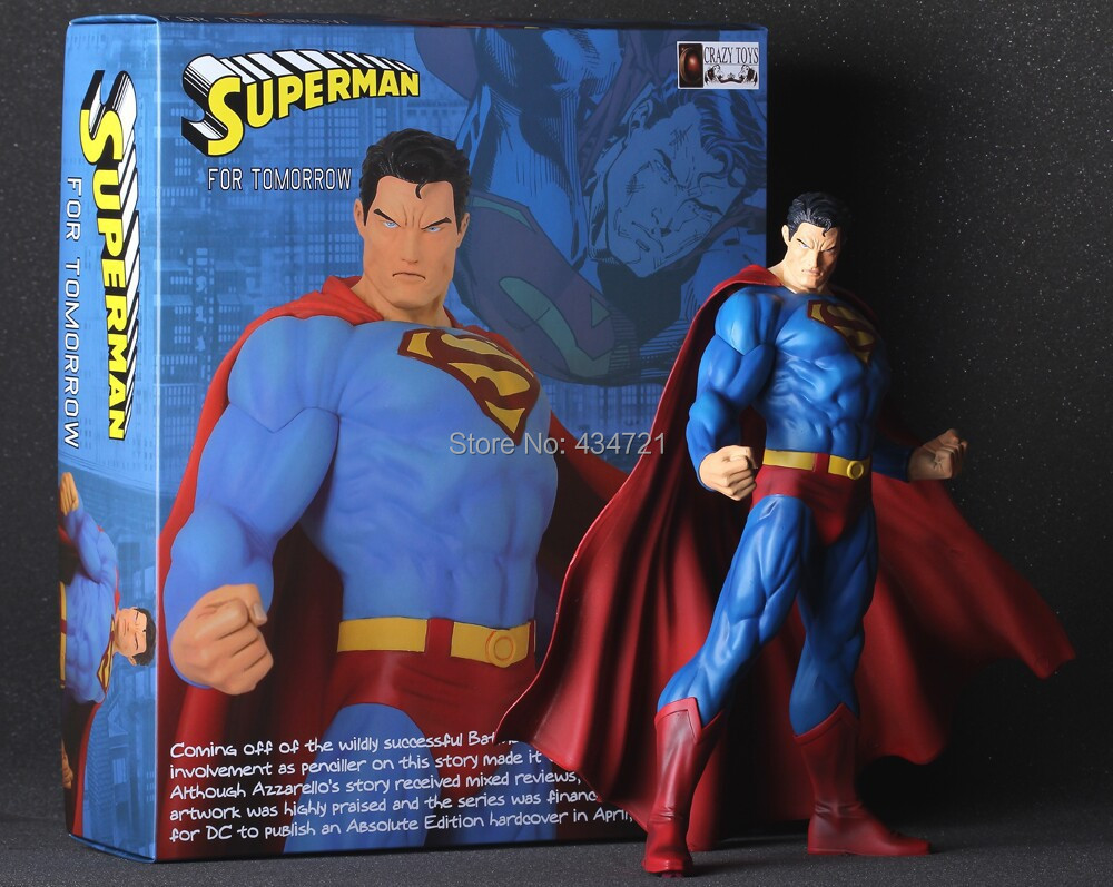 Best Superman Toys And Action Figures For Kids : New arrival classic dc superhero animation comics justice